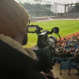 Filming for AVFC!